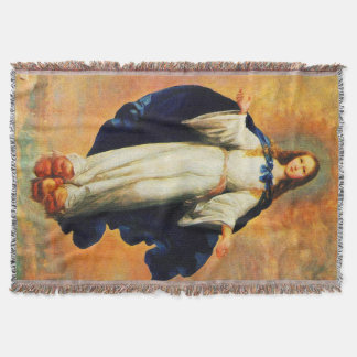 Immaculate Conception Virgin Mary Assumption 10 Throw Blanket