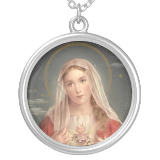 Immaculate Heart of Mary necklace