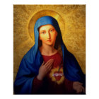 Immaculate Heart of Mary - Our Lady Virgin Poster