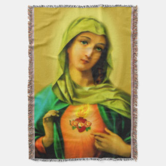 Immaculate Heart of Virgin Mary Blanket