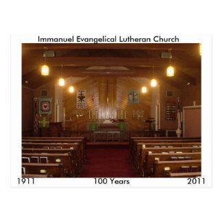 Immanuel Sanctuary Postcard