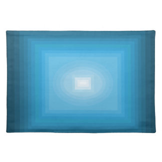 Immersed in Blue Modern Art Design CricketDiane Place Mats