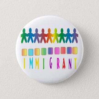 Immigrant 2 Inch Round Button