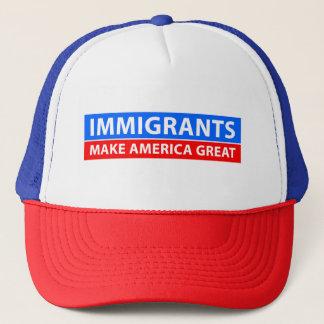Immigrants Make America Great - Trucker Hat