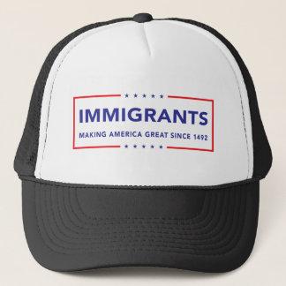 Immigrants Trucker Hat