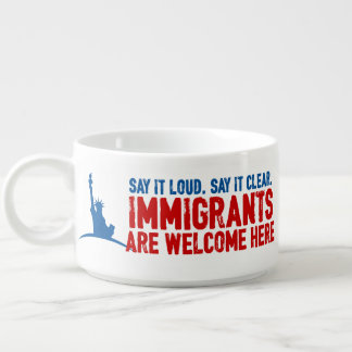 Immigrants Welcome Chili Bowl