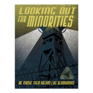 Immigration Propaganda Poster