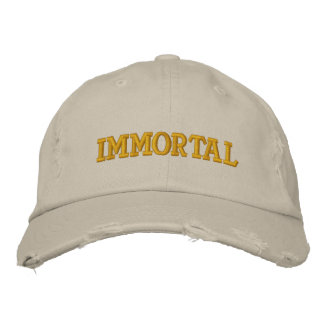 Immortal Embroidered Hat