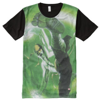Immortal Iron Fist Kick All-Over-Print T-Shirt