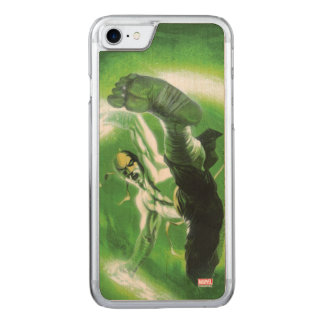 Immortal Iron Fist Kick Carved iPhone 7 Case