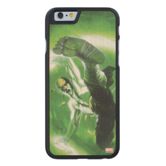 Immortal Iron Fist Kick Carved Maple iPhone 6 Case