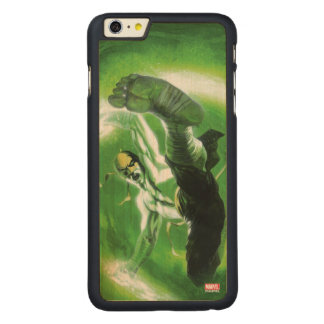Immortal Iron Fist Kick Carved Maple iPhone 6 Plus Case