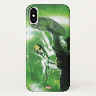 Immortal Iron Fist Kick iPhone X Case