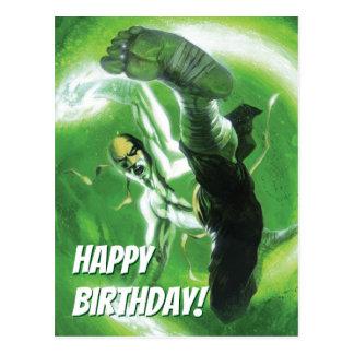Immortal Iron Fist Kick Postcard