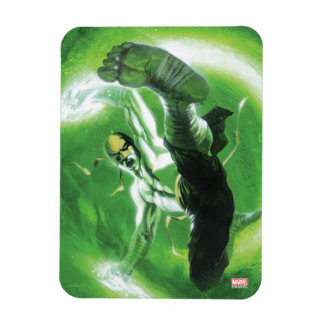Immortal Iron Fist Kick Rectangular Photo Magnet