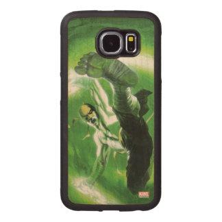 Immortal Iron Fist Kick Wood Phone Case