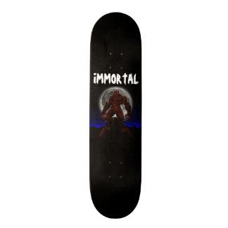Immortal-Night Wolf Skate Deck