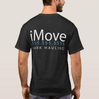 iMove. Garbage Hauler. Junk Removal Promo Merch T-Shirt