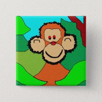 imp chimp 2 inch square button