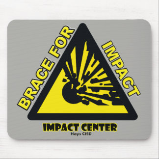 Impact Center mouse pad gray