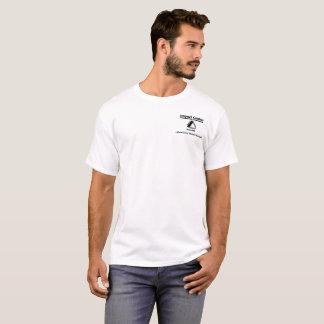 Impact - White Original Logo design T-Shirt