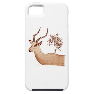 Impala Antelope Animal Wildlife Drawing Sketch Case For The iPhone 5
