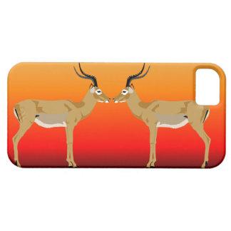 Impalas at sunset  Iphone case