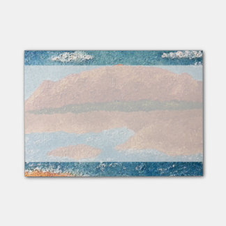 Impasto Mountain Painting Post-it® Notes