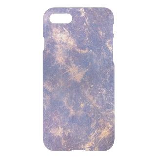 Impatient Gold Metallic Purple Splatter iPhone 7 Case