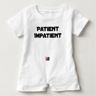IMPATIENT PATIENT - Word games - François City Baby Romper