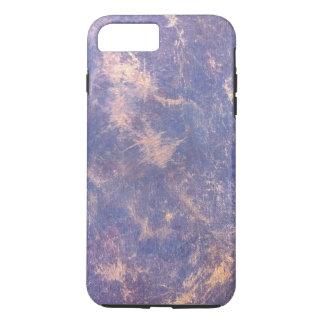 Impatient Stylish Purple Gold Splatter Chic Trendy iPhone 7 Plus Case