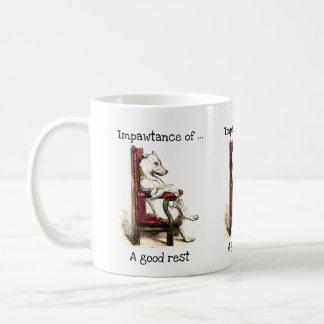 Impawtance of a good rest mug
