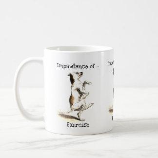 Impawtance of exercise mug