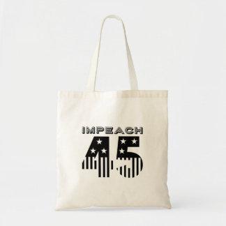 """""""Impeach 45"""" (flag) Tote Bag"""