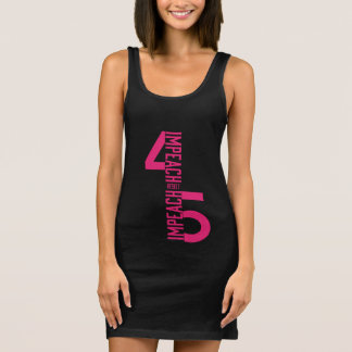 IMPEACH #45 RESIST SLEEVELESS DRESS