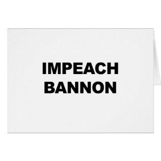 IMPEACH BANNON CARD