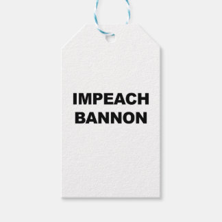 IMPEACH BANNON PACK OF GIFT TAGS