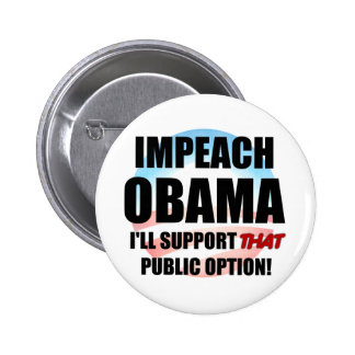 Impeach Obama 2 Inch Round Button
