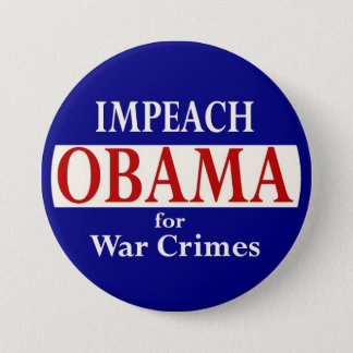 Impeach Obama 3 Inch Round Button