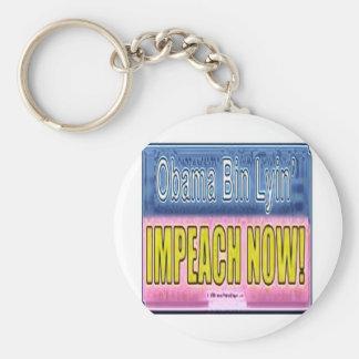 Impeach Obama Basic Round Button Keychain