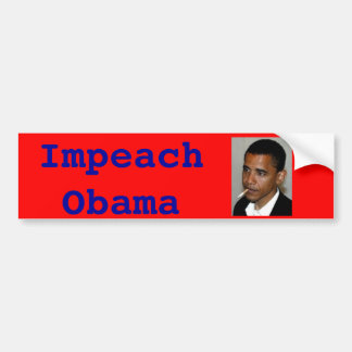 Impeach Obama Bumper Sticker