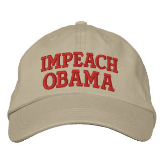 IMPEACH OBAMA EMBROIDERED HAT