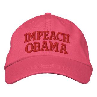IMPEACH OBAMA BASEBALL CAP
