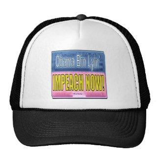 Impeach Obama Mesh Hats