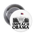 Impeach Obama Pinback Button