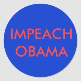 IMPEACH OBAMA STICKER