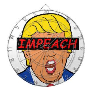 IMPEACH TRUMP 2017 DARTBOARD