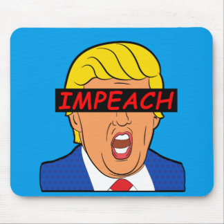 IMPEACH TRUMP 2017 MOUSE PAD