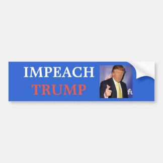 Impeach Trump Bumper Sticker