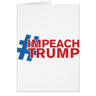 IMPEACH TRUMP CARD